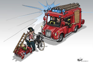 2009 Heldersche Courant Texel brandweer