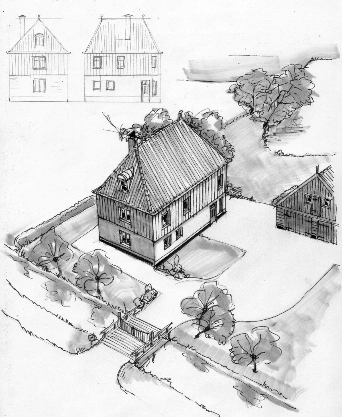 Huis 1 in Hobrede