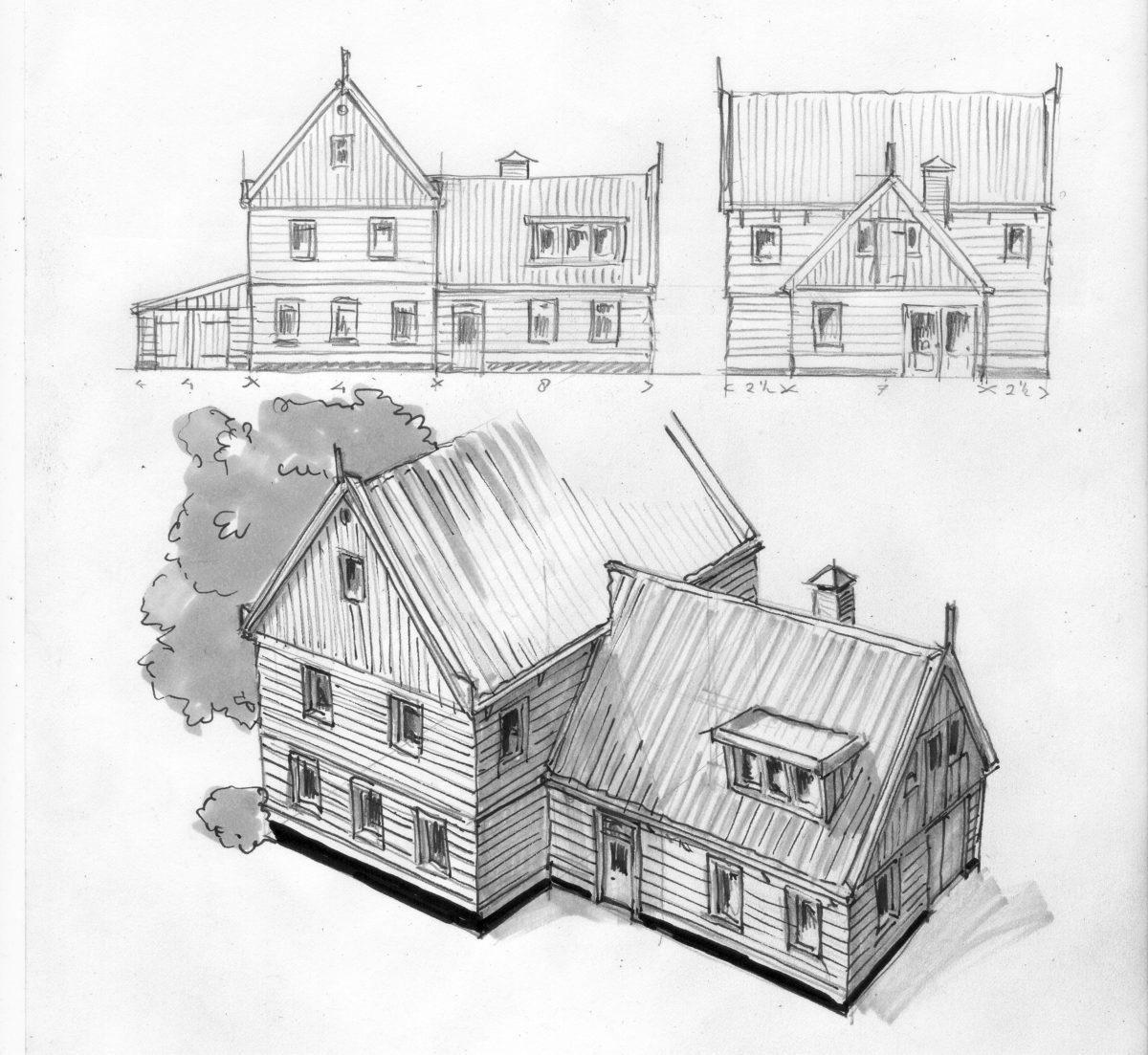 huis 3 in Hobrede