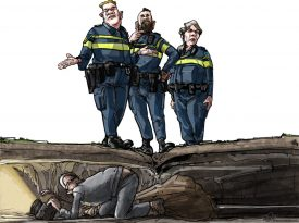 cartoon Frank Muntjewerf
